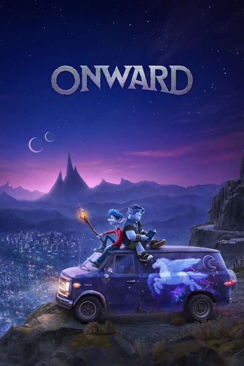 Film poster for Onward