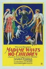 Madame wünscht keine Kinder