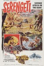 Filmplakat Serengeti Shall Not Die, 1959
