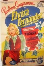 Elvira Fernández, vendedora de tiendas