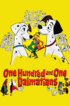 ‎One Hundred and One Dalmatians (1961) directed by Hamilton ...