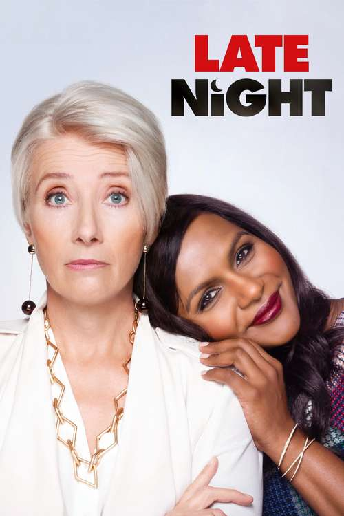 Film poster for Late Night