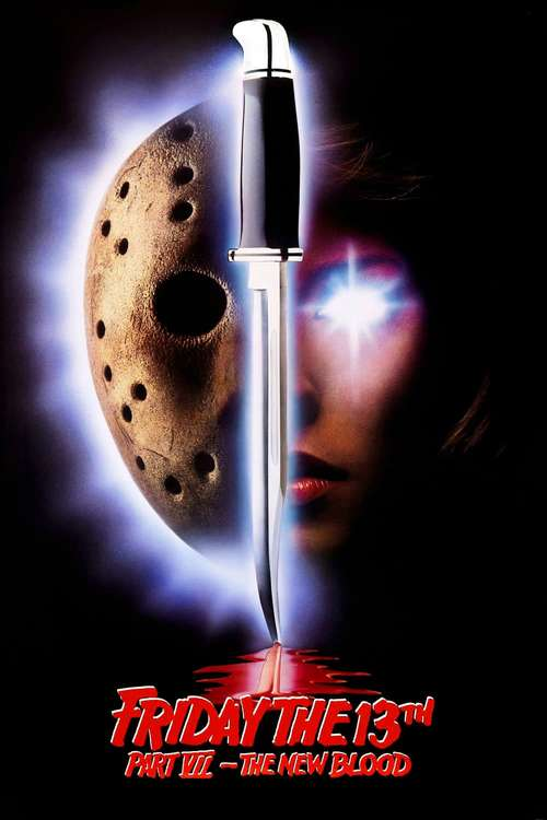 Friday the 13th Part VII: The New Blood movie poster