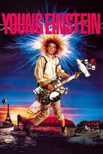 Filmplakat Young Einstein, 1988
