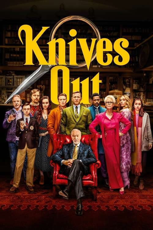 Film poster for Knives Out