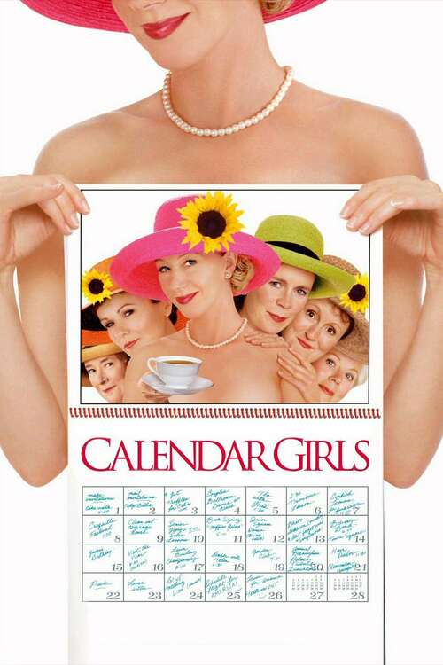 Film poster for Calendar Girls