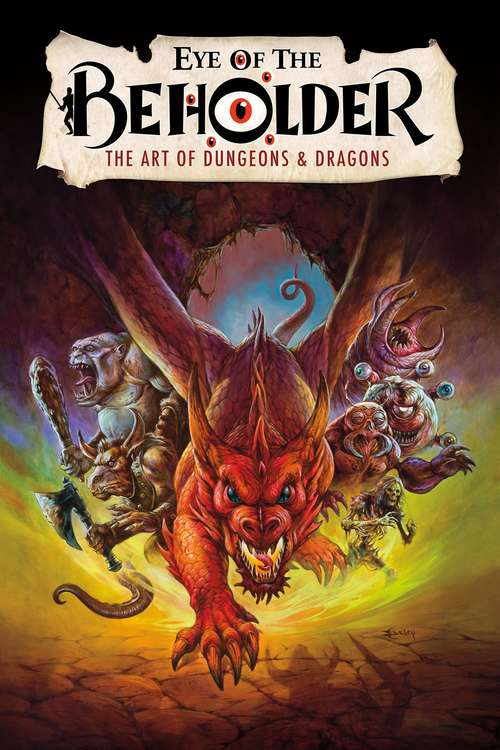 Film poster for Eye of the Beholder: The Art of Dungeons & Dragons
