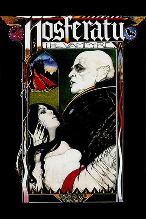 Filmplakat Nosferatu the Vampyre, 1979