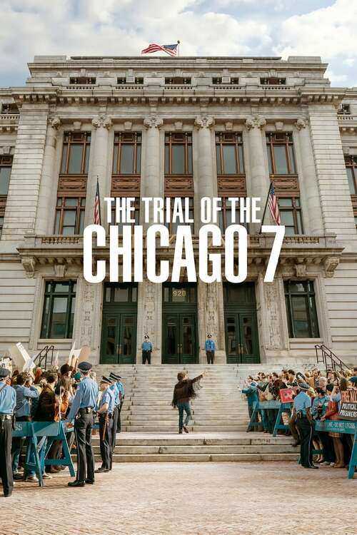 Film poster for The Trial of the Chicago 7