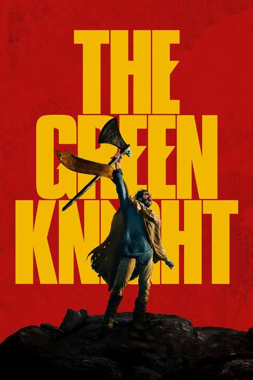 Film poster for The Green Knight