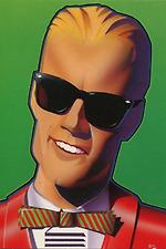 Max Headroom's Giant Christmas Turkey