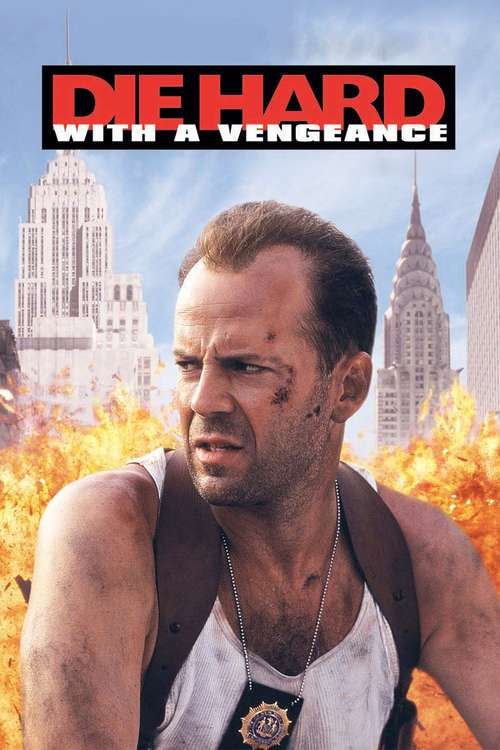 Film poster for Die Hard: With a Vengeance