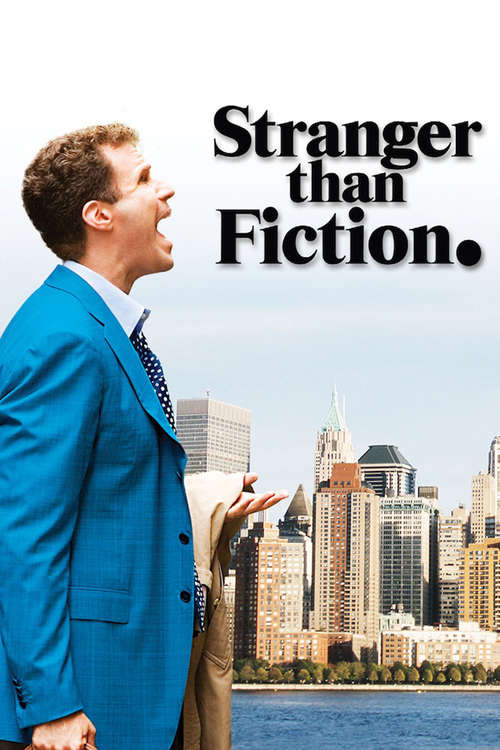 Film poster for Stranger Than Fiction