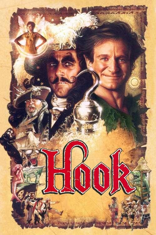 Film poster for Hook