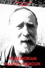 In Memoriam Marcel Hanoun