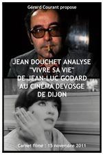 Jean Douchet analyse « Vivre sa vie » de Jean-Luc Godard au cinéma Devosge de Dijon