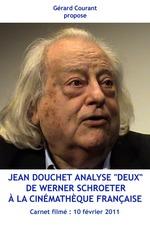 """Jean Douchet analyse """"Deux"""" de Werner Schroeter à la Cinémathèque française"""