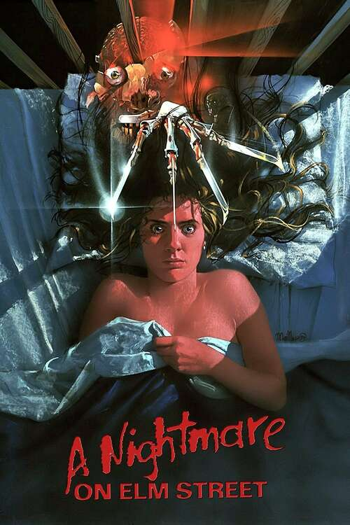 Film poster for A Nightmare on Elm Street