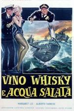 Vino, whisky e acqua salata