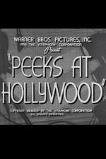 Peeks at Hollywood