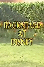 Backstage at Disney