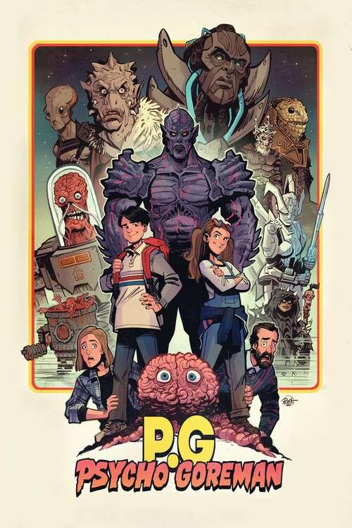 Psycho Goreman movie poster