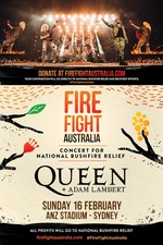 Queen + Adam Lambert: Fire Fight Australia