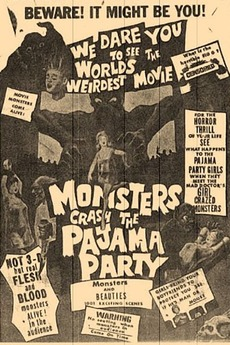 The Monsters Crash the Pajama Party