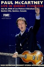 Paul McCartney Live in Quebec 7/20/2008
