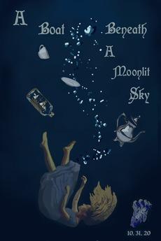 A Boat, Beneath A Moonlit Sky