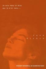 Jane Birkin au Casino de Paris