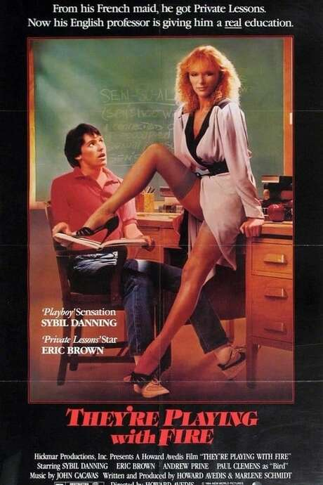 Blu-Ray Review: THEYRE PLAYING WITH FIRE (1984) - ZekeFilm
