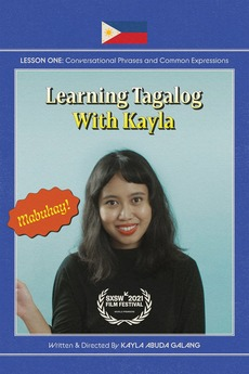 Learning Tagalog with Kayla
