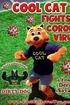 Cool Cat Fights Coronavirus