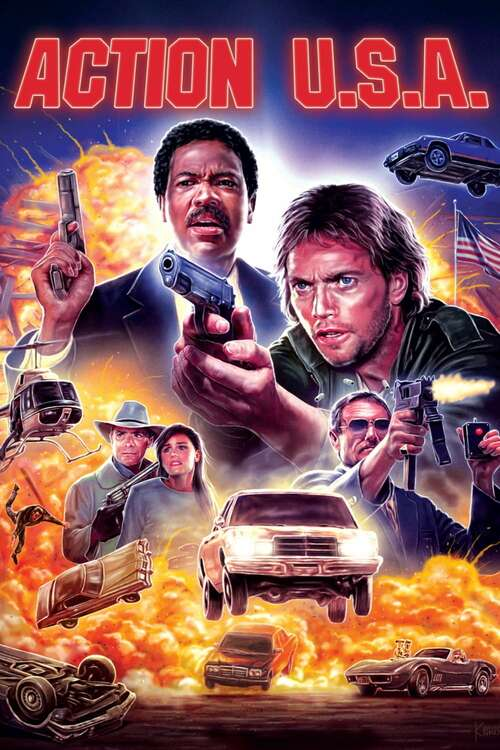 Action U.S.A. movie poster