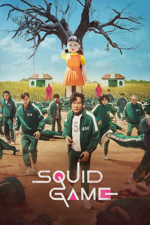Squid Game movie poster
