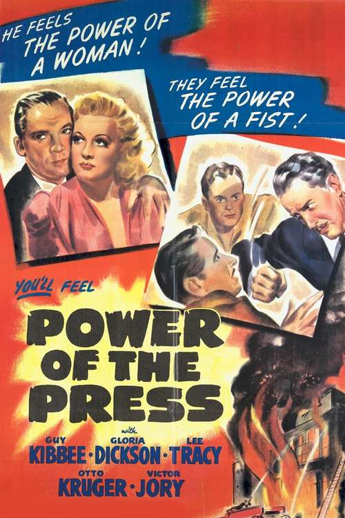 Power of the Press movie poster