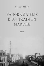 Panorama pris d'un train en marche