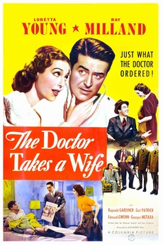 The Doctor Takes a Wife (1940) directed by Alexander Hall