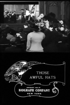 Those Awful Hats (1909)