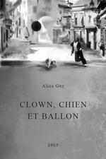 Clown, Dog and Balloon