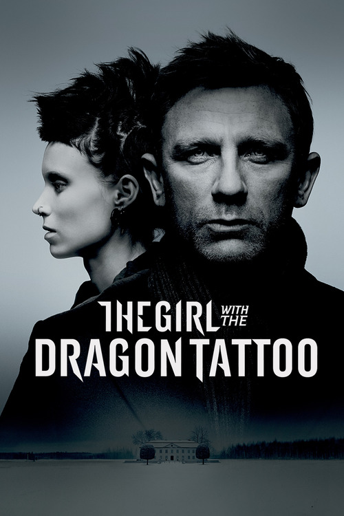 Film poster for The Girl with the Dragon Tattoo