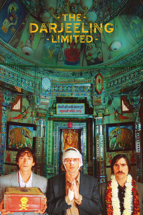 Film poster for The Darjeeling Limited
