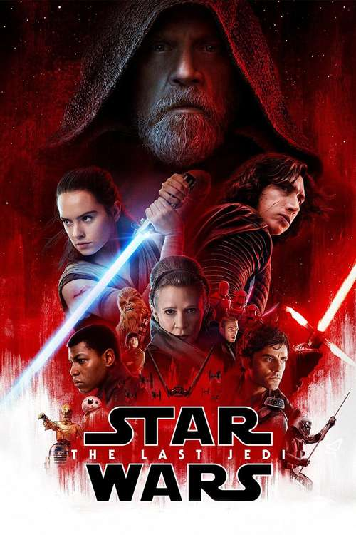 Film poster for Star Wars: The Last Jedi