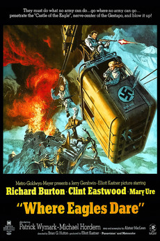 Car Sound Effects >> ‎Where Eagles Dare (1968) directed by Brian G. Hutton • Reviews, film + cast • Letterboxd