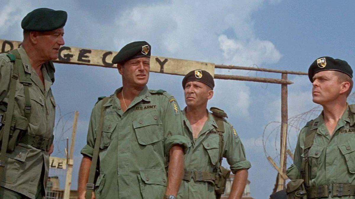War Movie : The Green Berets (1968) – HD – Full Movie