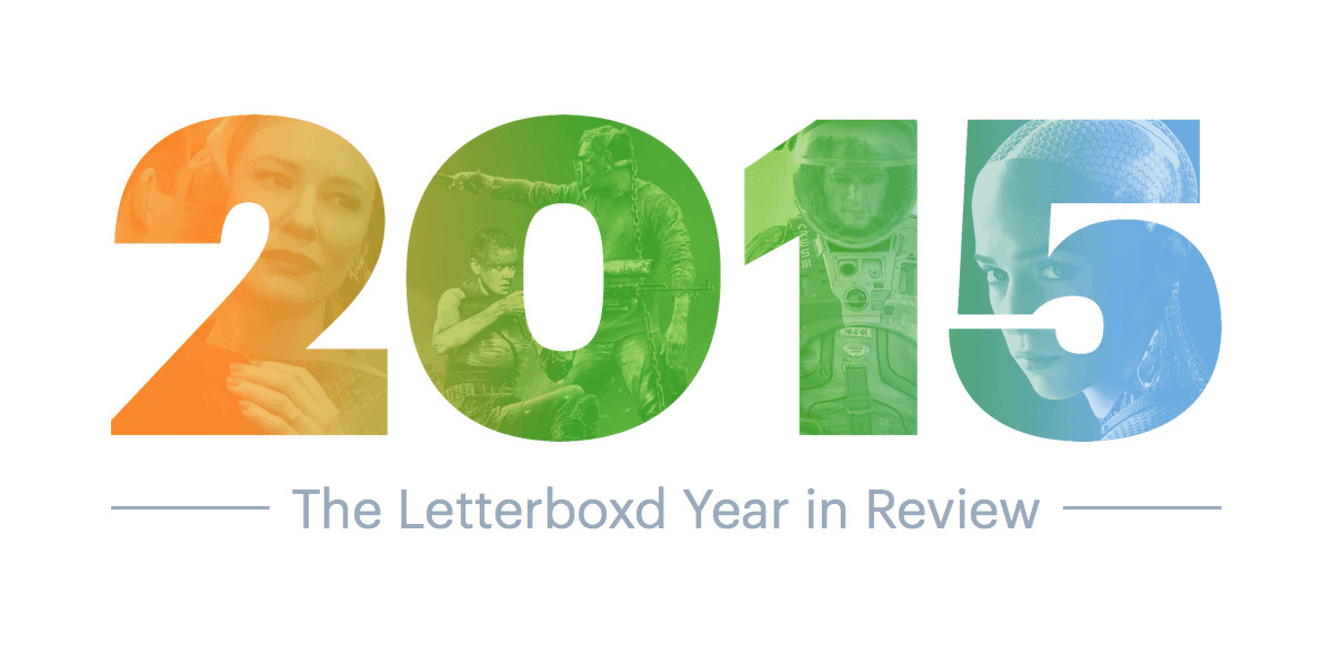 ‎2015 Year in Review • Letterboxd