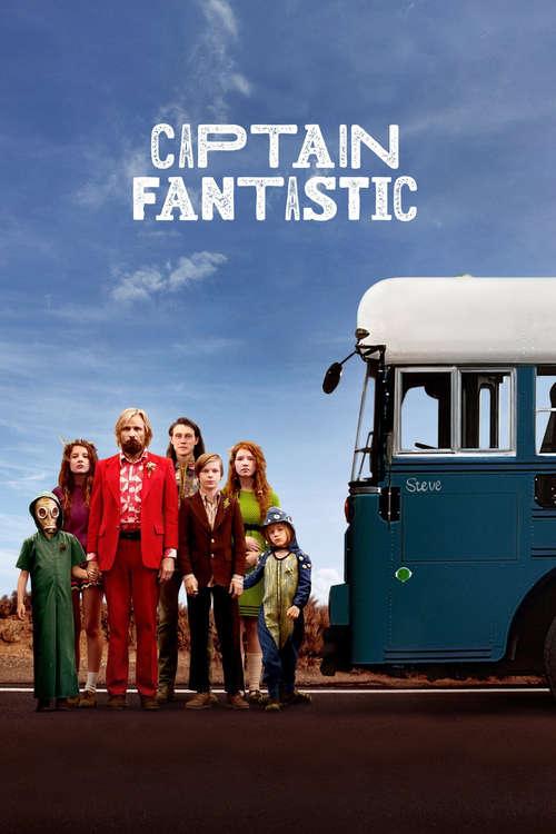 Film poster for Captain Fantastic