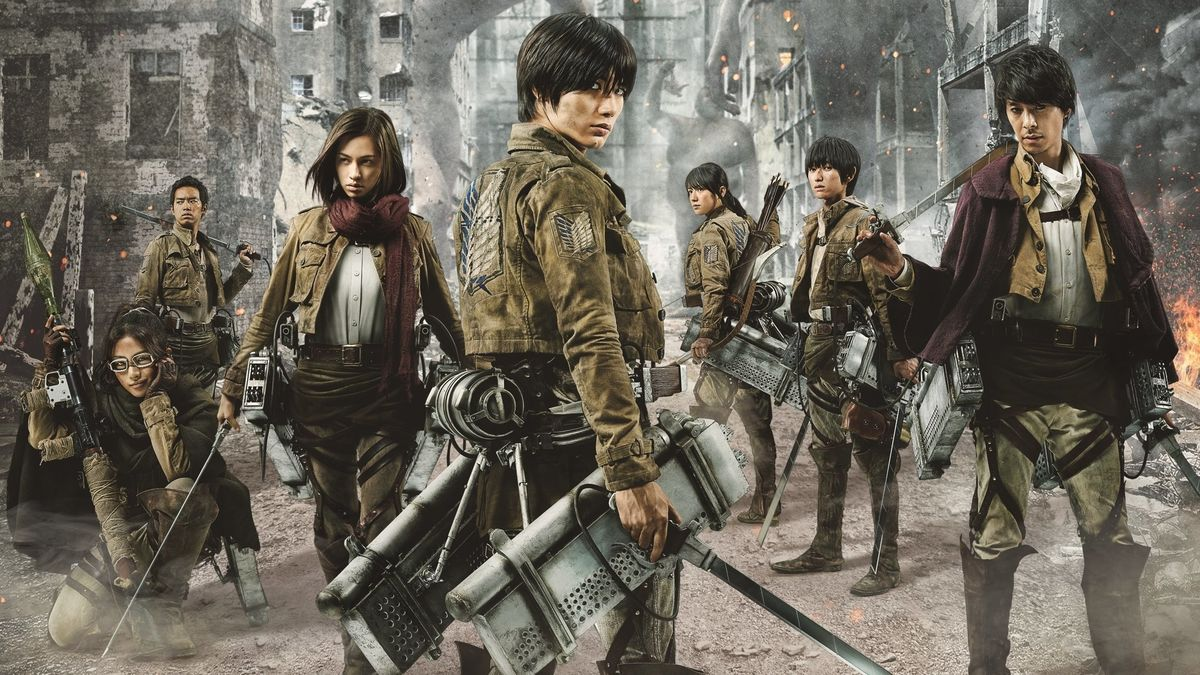 ‎Attack on Titan II: End of the World (2015) directed by ...