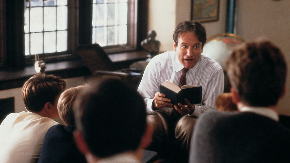 peter weirs film dead poets society essay In her essay reading the truman show inside out argues that the film itself tries to blur the  dead poets society (1989) green  weirs next film,.